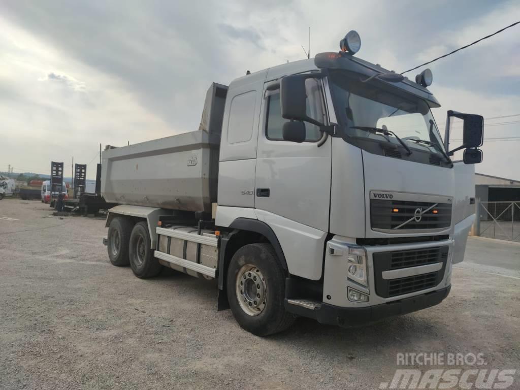 Volvo FH 540 6x4 551cv Dump Tipper truck