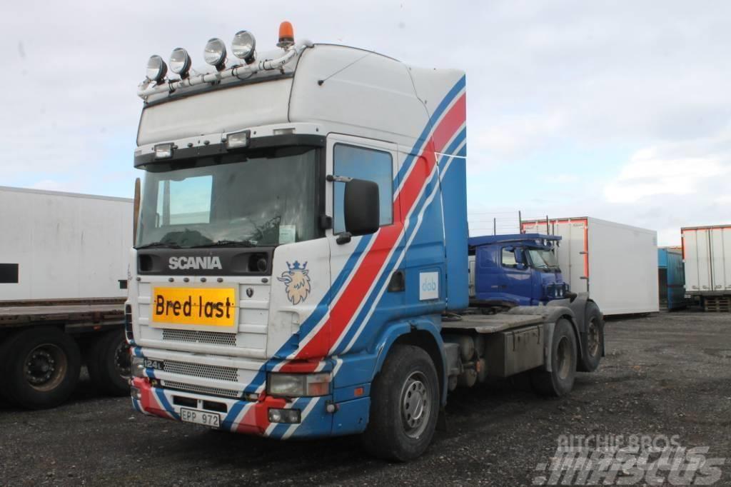 Scania R124 LA 6X2