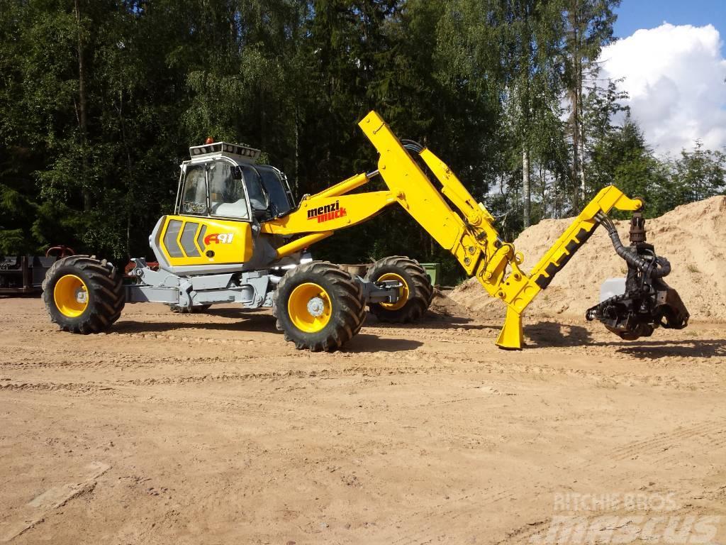 Menzi Muck harvester Logset Logset 4 M head