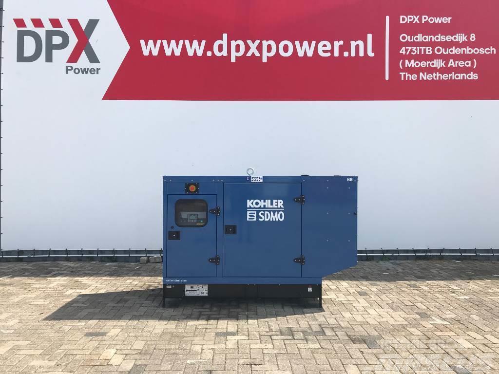 Sdmo J77 - 77 kVA Generator - DPX-17104