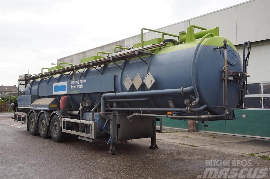 [Other] Stokota Vacuum Tank Oplegger 28.500 Liter / ADR /