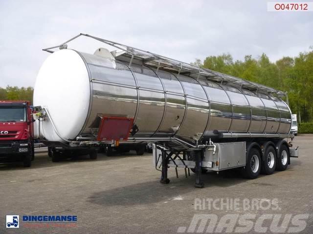 Indox Food tank inox 32.7 m3 / 2 comp