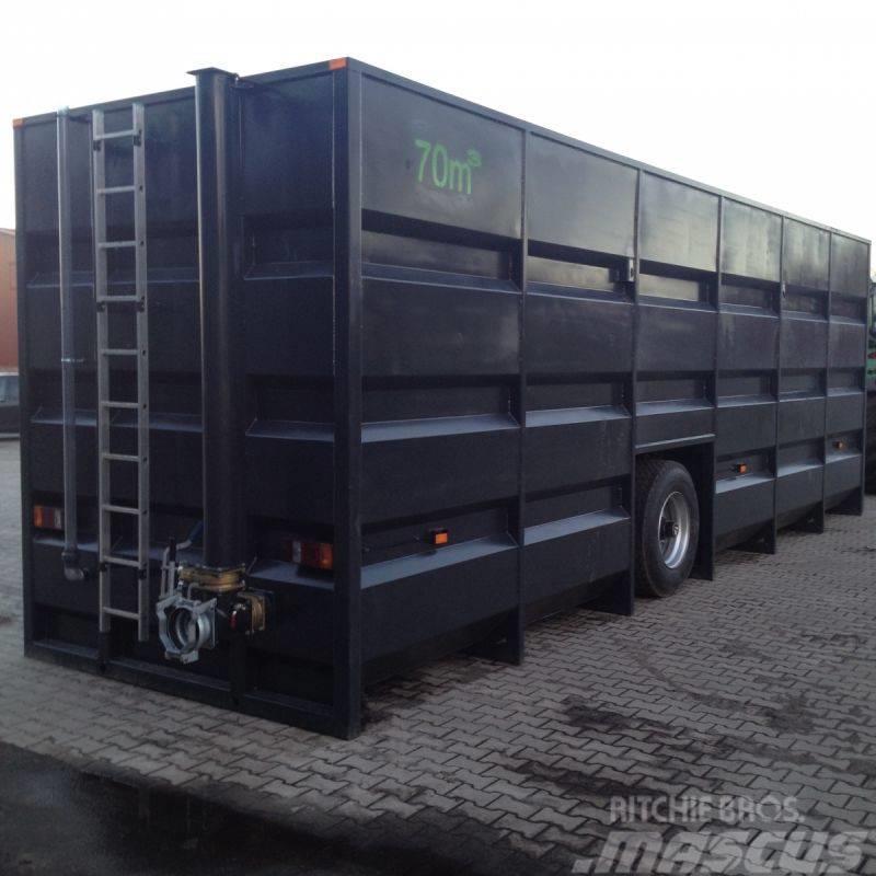 Agroland Güllefeldrand Container 75 m³