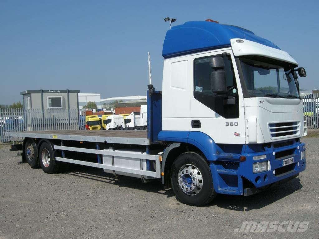 used iveco stralis flatbed dropside year 2007 price 9 224 for sale mascus usa. Black Bedroom Furniture Sets. Home Design Ideas