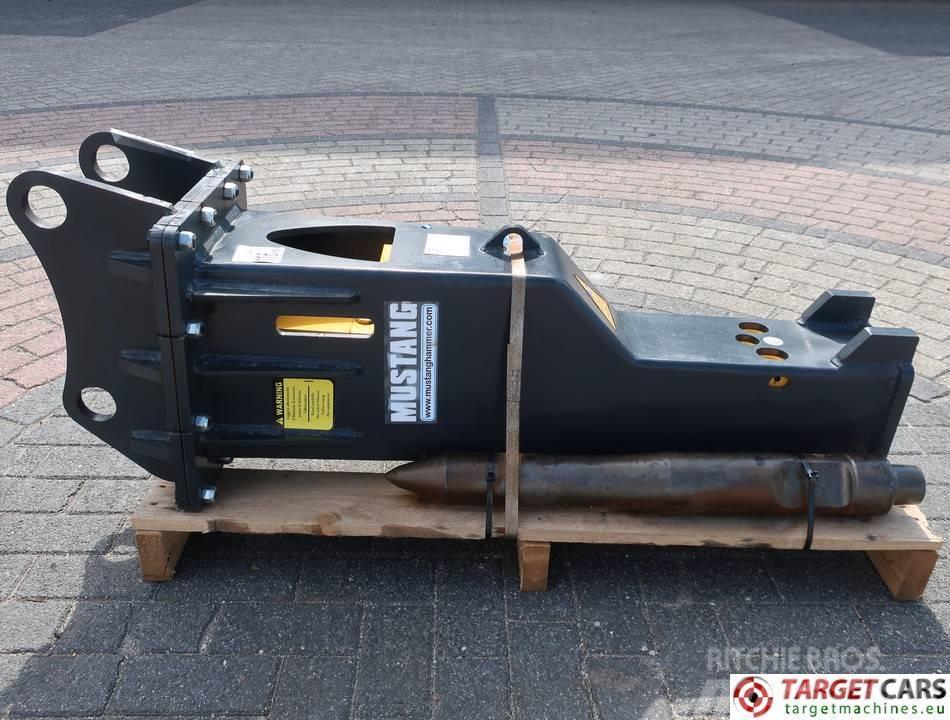 Mustang HM500 Hydraulic Excavator Breaker Hammer 6~13T NEW