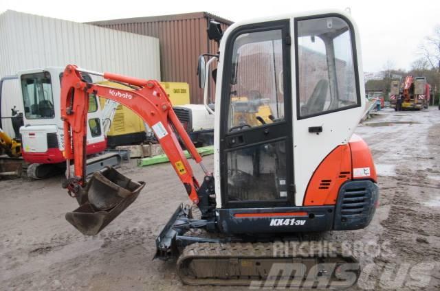 kubota kx 41 3 v price 11 250 2010 mini excavators. Black Bedroom Furniture Sets. Home Design Ideas
