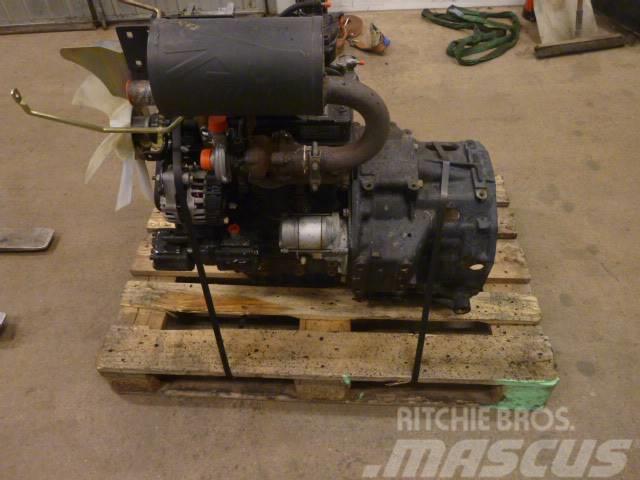 John Deere 3720 motor och växellåda