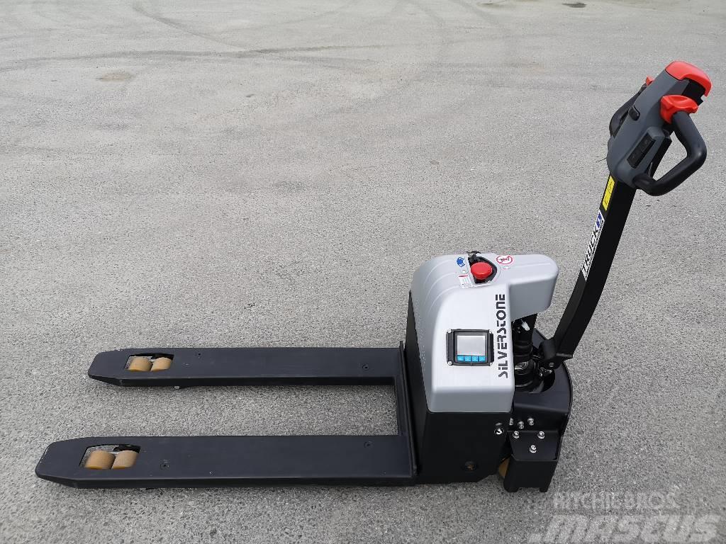 Silverstone T20-15ET-SC - 1,5 t palletruck med vekt (PÅ LAGER)