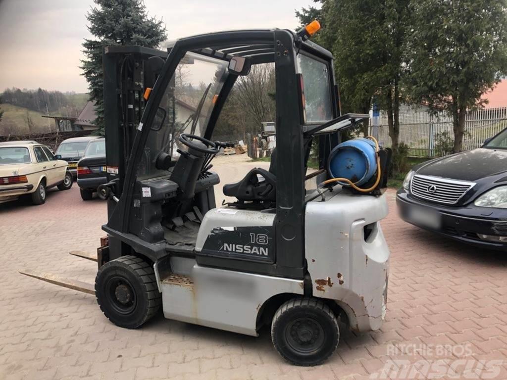 Nissan Wózek Widłowy NISSAN PD01A18PQ LPG TDL Triplex