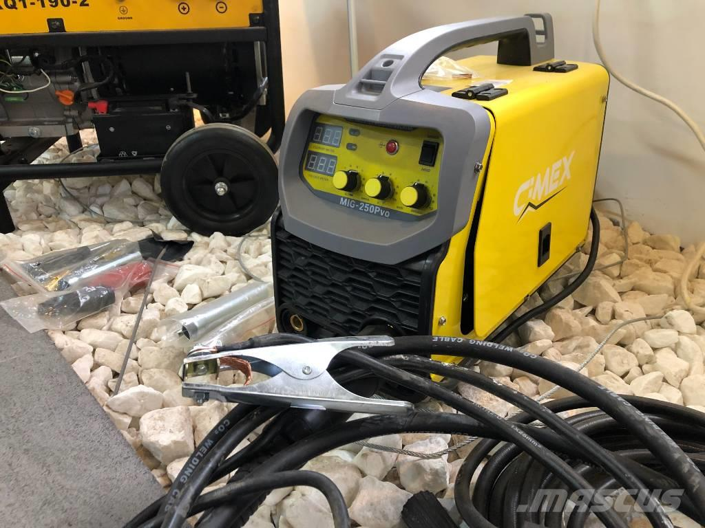 [Other] CIMEX ARC Welding Inverter with Mask MIG 250 Pvo