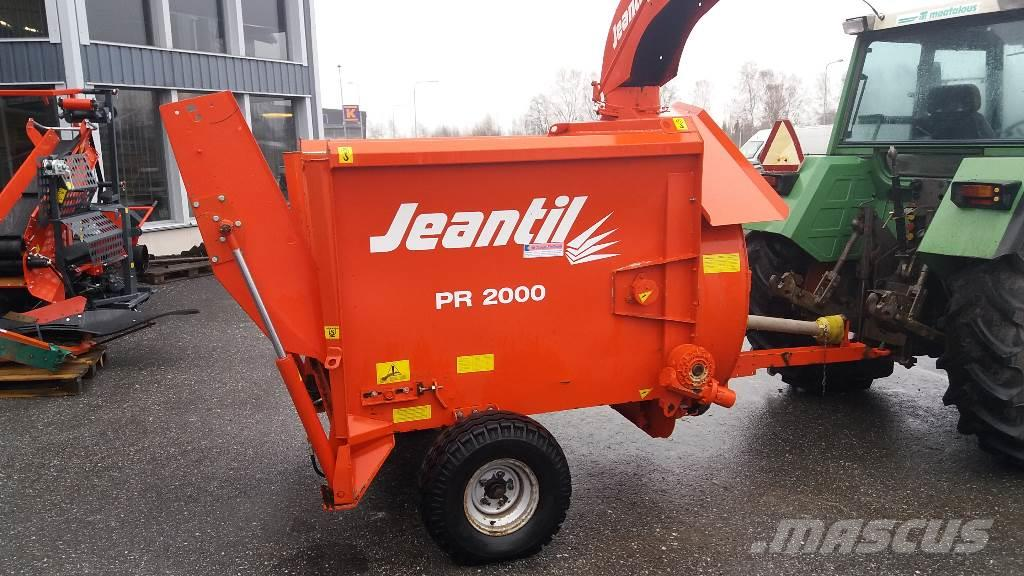 Jeantil PR 2000 paalisilppuri