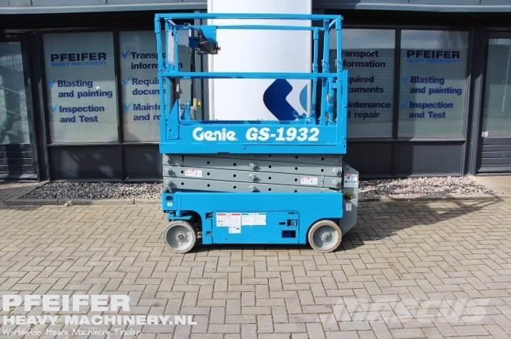 Genie GS1932 Electric, 7.8m Working Height.