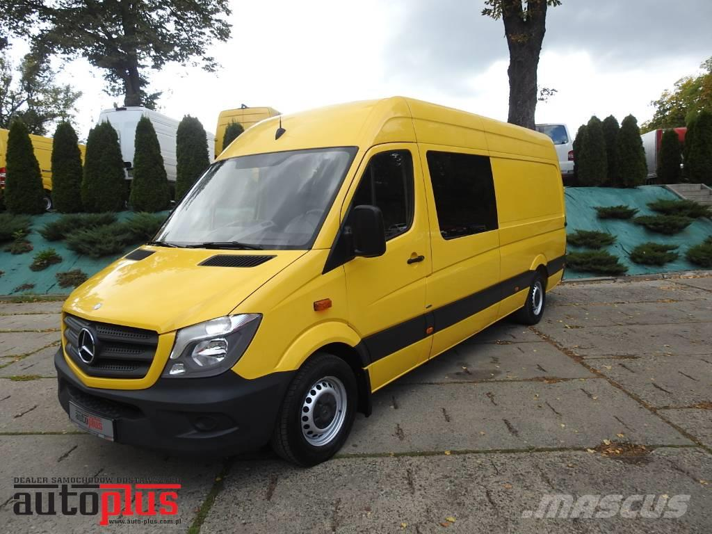 Mercedes-Benz SPRINTER 313 VAN DOUBLE CABIN 6 SEATS TEMPOMAT