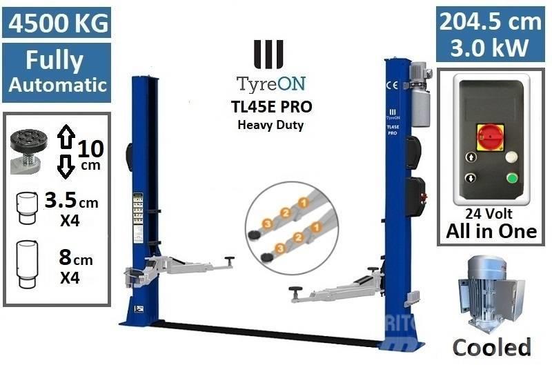 TyreOn TL45E PRO   4500 KG   2 Post lift