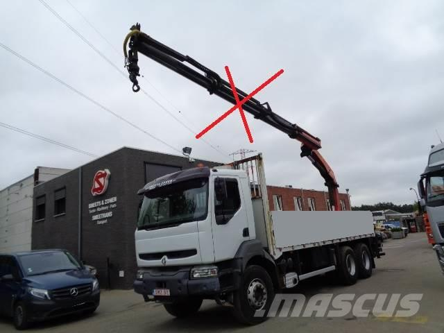 Renault Kerax 420 6x4 chassis NO crane!