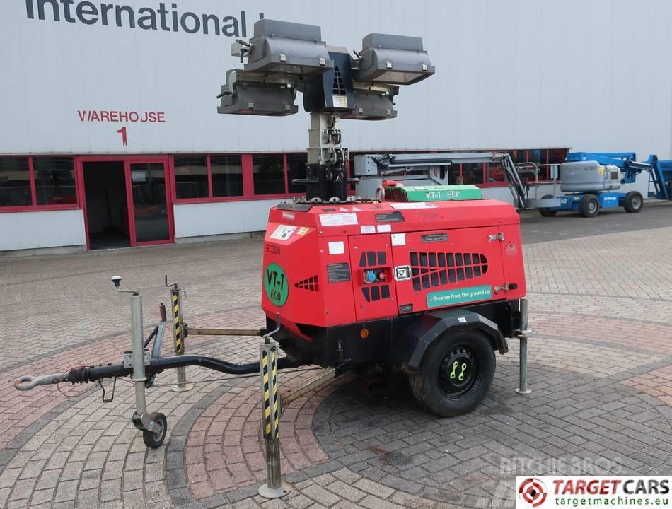 Towerlight VT1 MK2 Eco Tower Light 4x1000W Generator 9KVA