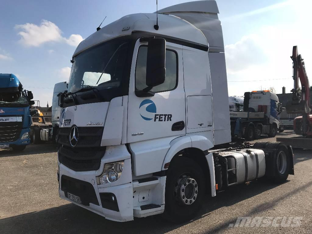 Mercedes-Benz Actros 1845 *ACCIDENTE*DAMAGED*UNFALL*