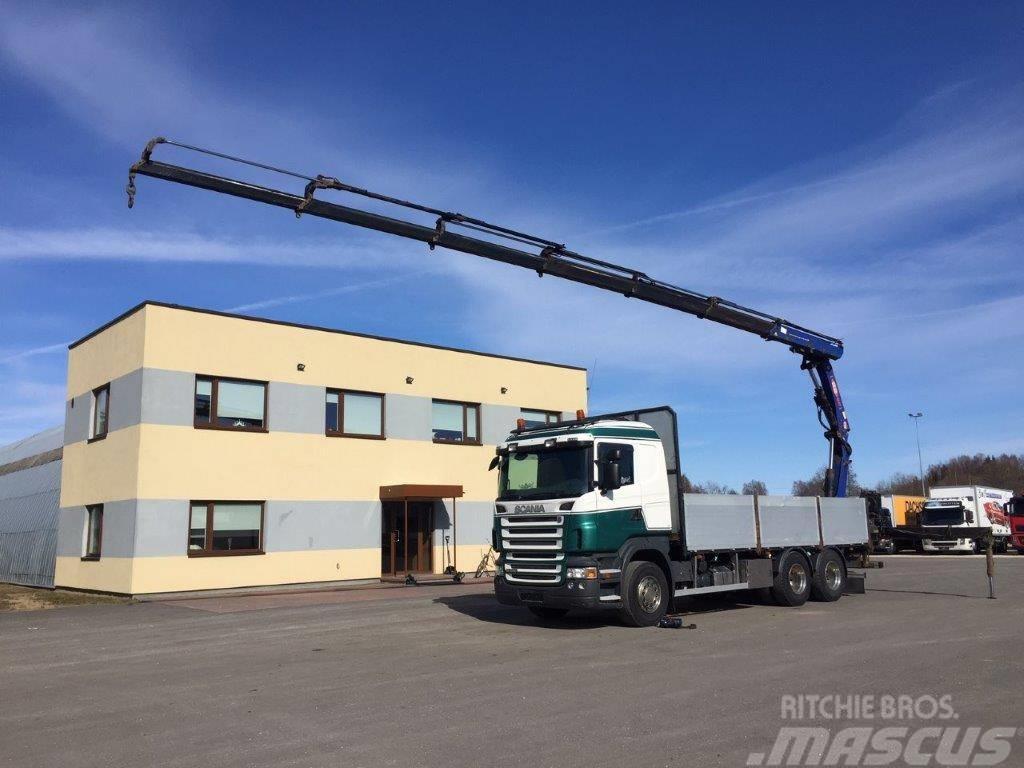 Scania R480 6x4+RETARDER+PM22 CRANE