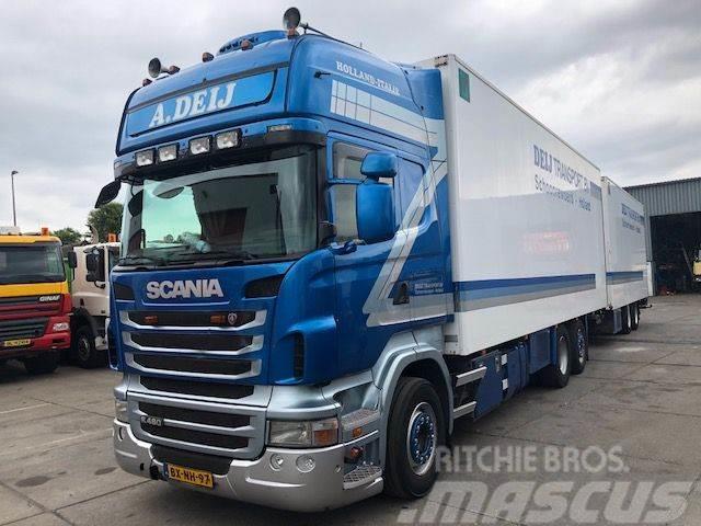 Scania R480 B 6X2 Combinatie