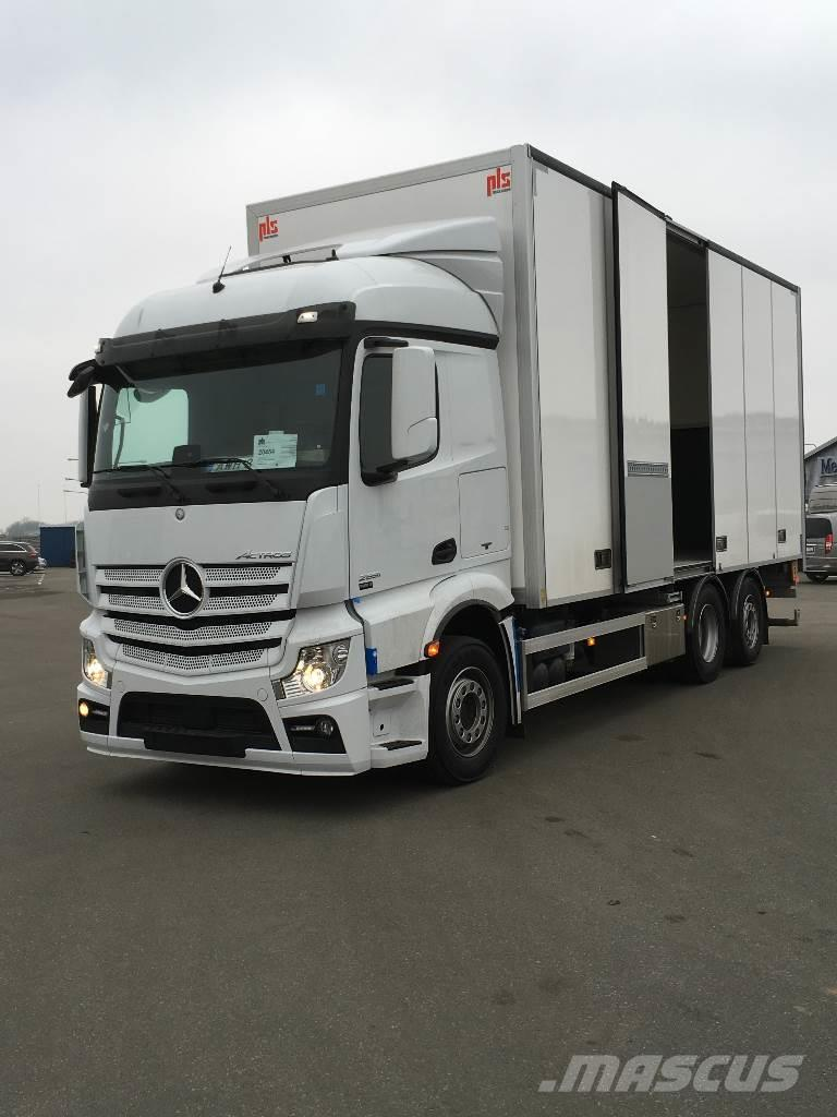Used mercedes benz actros 2551 box trucks year 2016 price for Mercedes benz trucks