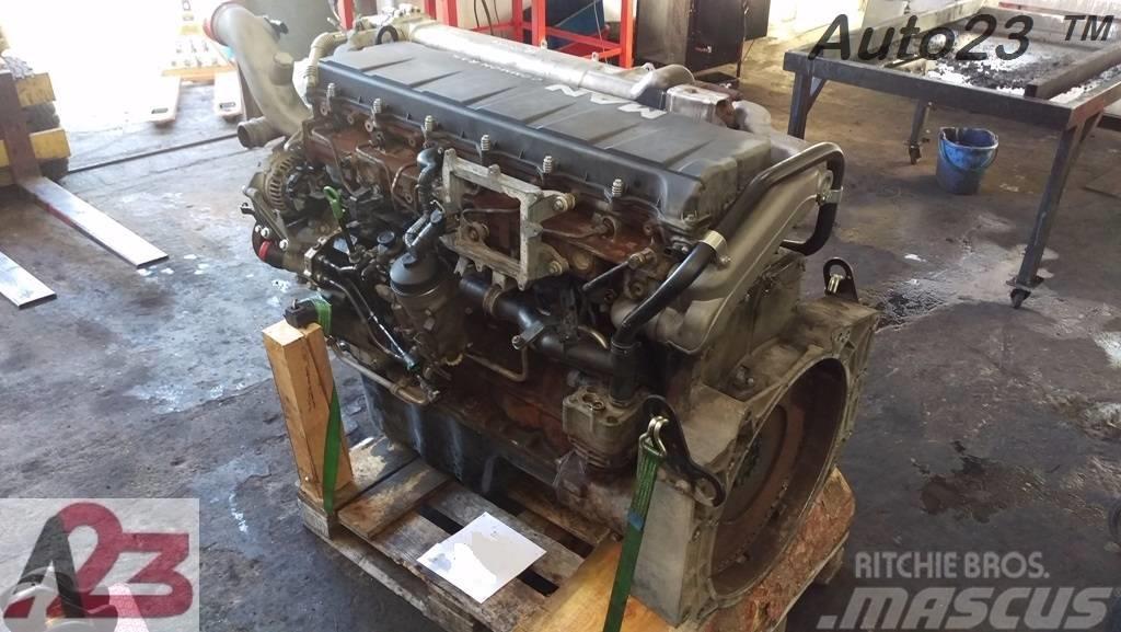 [Other] Silnik MAN TGA TGS TGX D2066 LF E4 Euro4 D20 E4