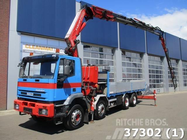 Iveco MP340E42H 8x4 Fassi 41 ton/meter (2003) + Jib