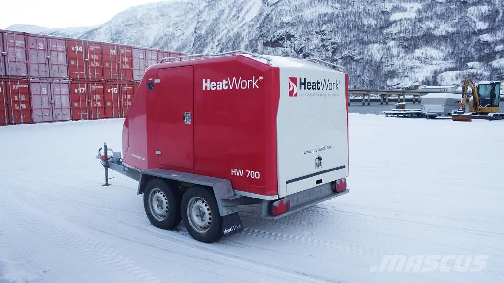 Heatwork tjältinare, HW 700/HW 1800/HW 3600 2006