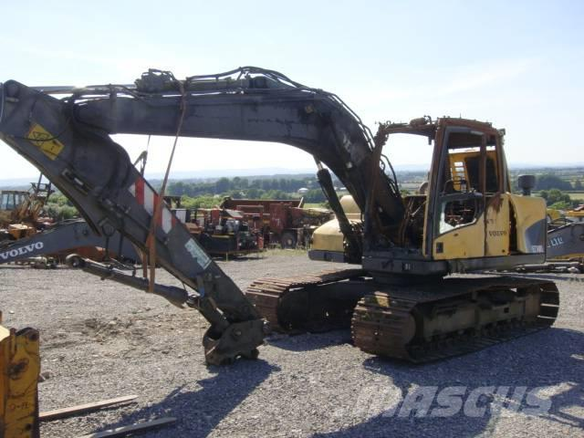 Volvo EC140CL dismantled for spares only