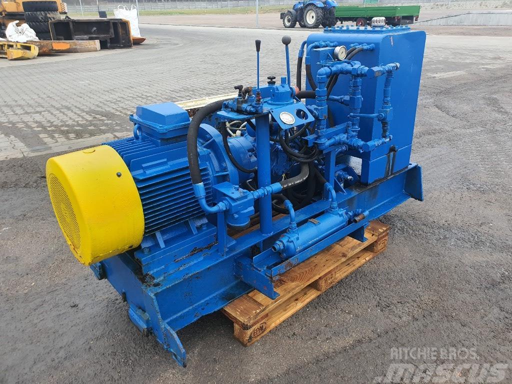 Rexroth agregat hydrauliczny 37 kw