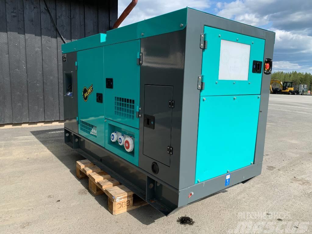 Ashita 50KVA -19 diesel nytt elverk 59.000:-