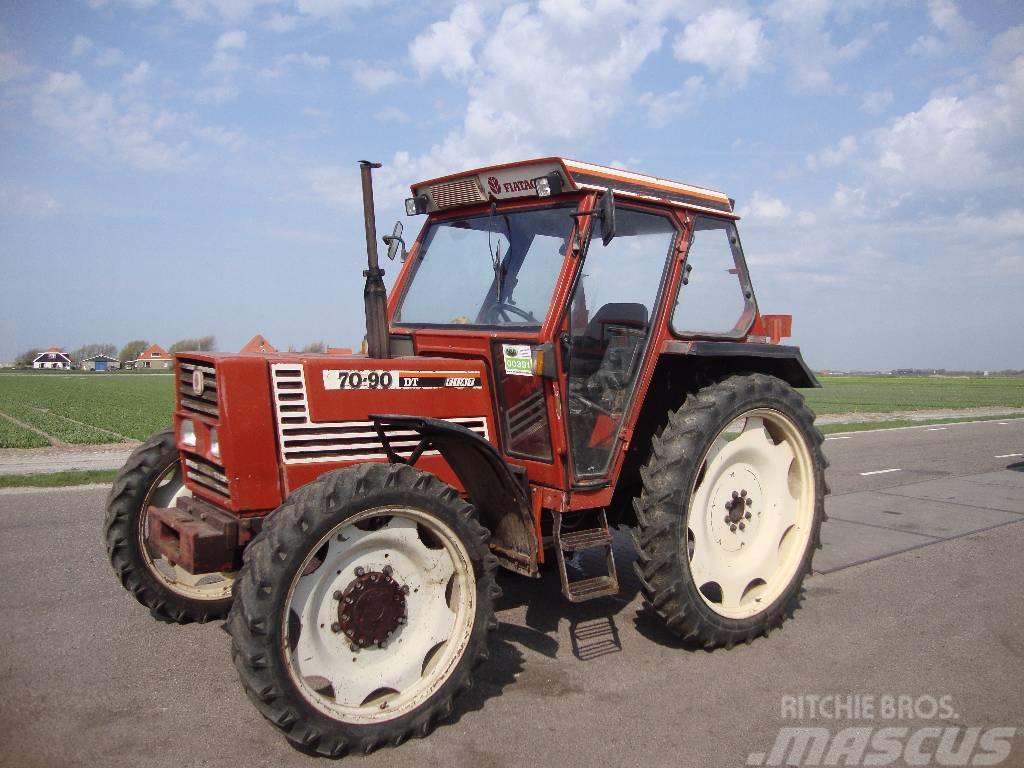 fiat 70-90 dt occasion  ann u00e9e d u0026 39 immatriculation  1986 - tracteur fiat 70-90 dt  u00e0 vendre