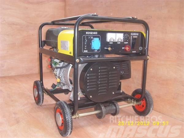 Kovo welder generator powered by Mitsubishi EW240G