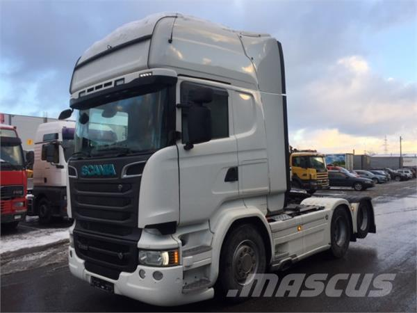 Scania R580 V8 6X2 BOOGIE LIFT