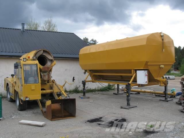 Carmix 5.5 XL med Cementsilo 40 ton