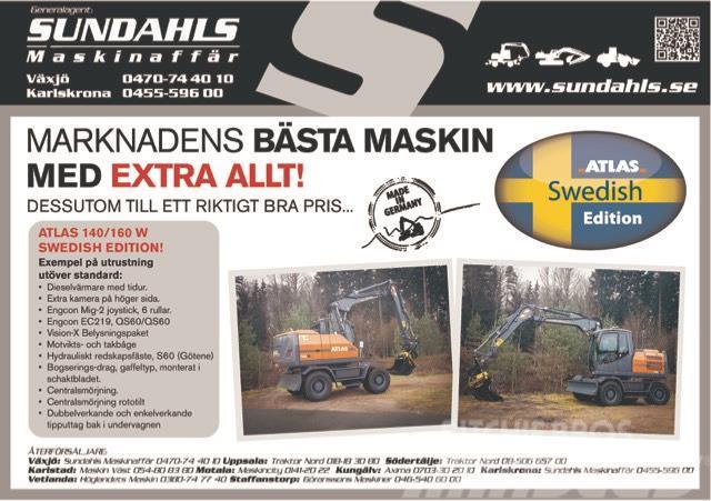 Atlas Swedish Edition 140-160W omg.lev!