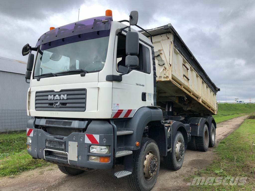 MAN TGA 35.400 8x6 Tipper