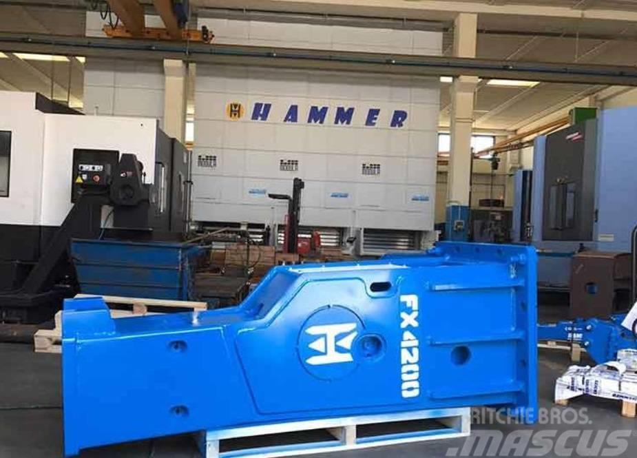 Hammer FX 4200 Hydraulic breaker 4400kg