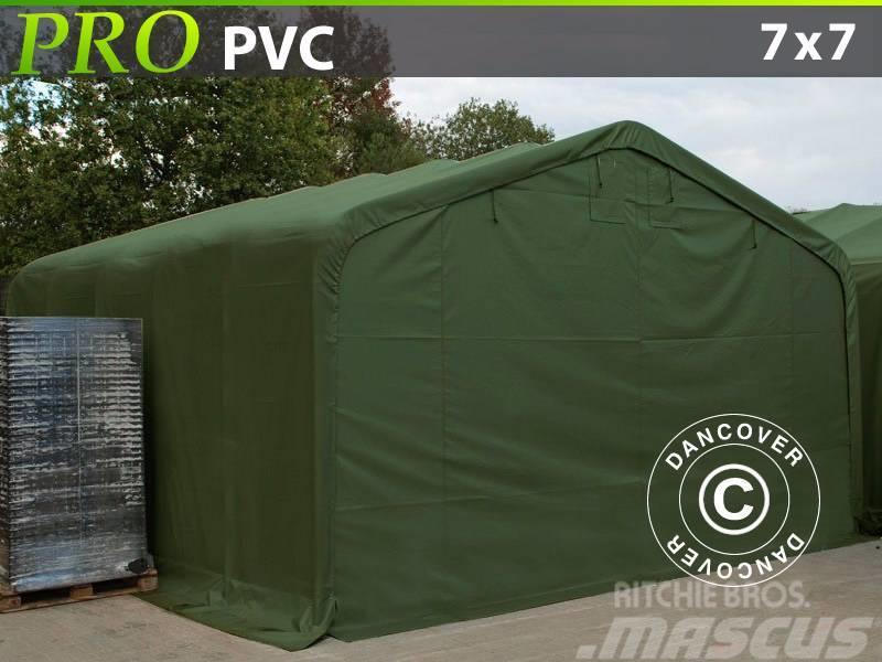 Dancover Storage Shelter 7x7x3,8m PVC, Telthal