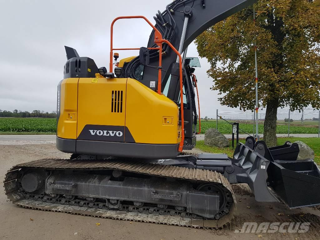 Used Volvo ECR 145 E, Uthyres crawler excavators Year: 2017 for sale - Mascus USA