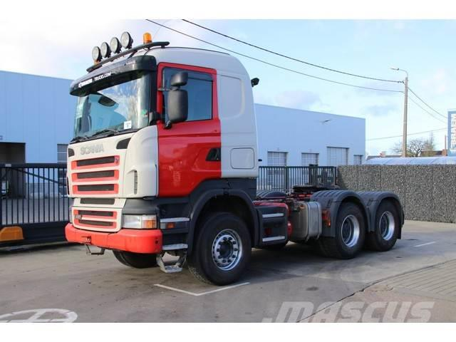 Scania R420 - SPRING - BIG AXLES - MANUAL