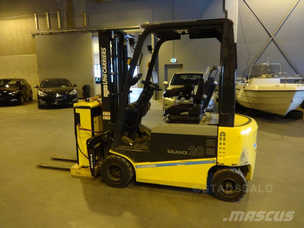 Atlet JAG1N1L20T - 2,0 tonns el. truck (PÅ LAGER)