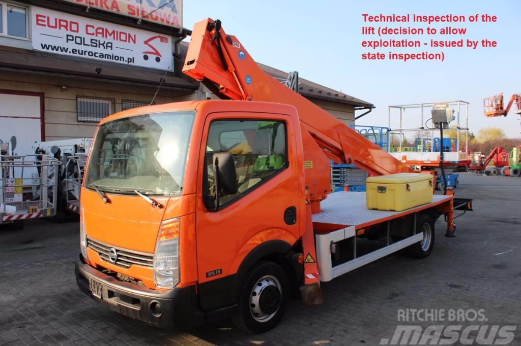 Nissan CABSTAR CMC PLA 210 (TECHNICAL INSPECTION)