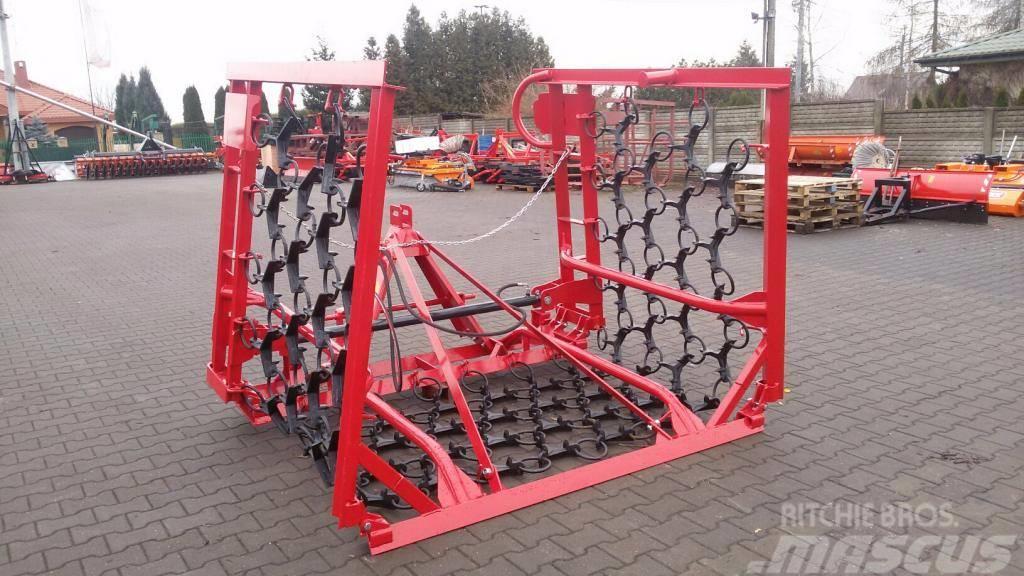 MICHALAK Włóka 4m 5m 6m hydrauliczna Wiessenege fi, Grades