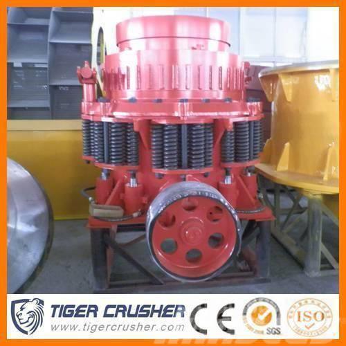 Tigercrusher De sable avec hydraulique à double rouleau broyeur