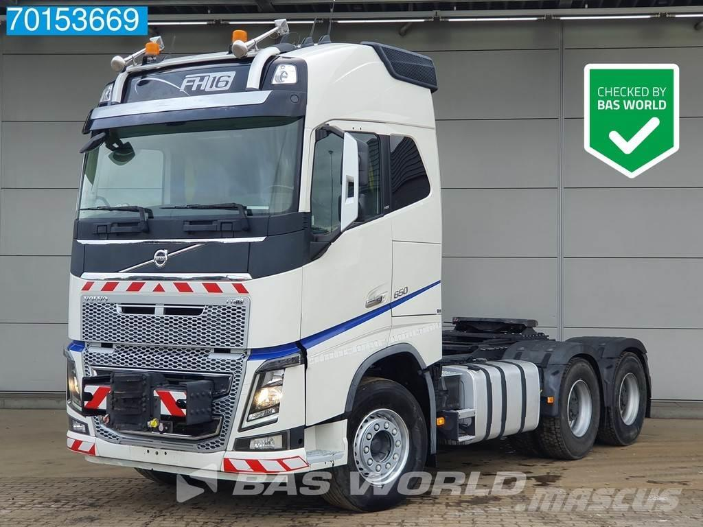Volvo FH16 650 6X4 150T Push-Pull Retarder Steelsuspensi
