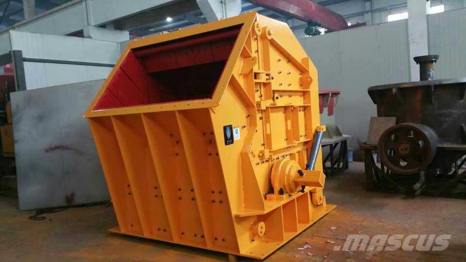White Lai Stone Rock Impact Crusher Machine PFC1416