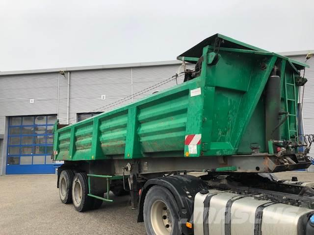 Trailor TIPPER TRAILER / FULL STEEL SUSPENSION / 8X WHEELS