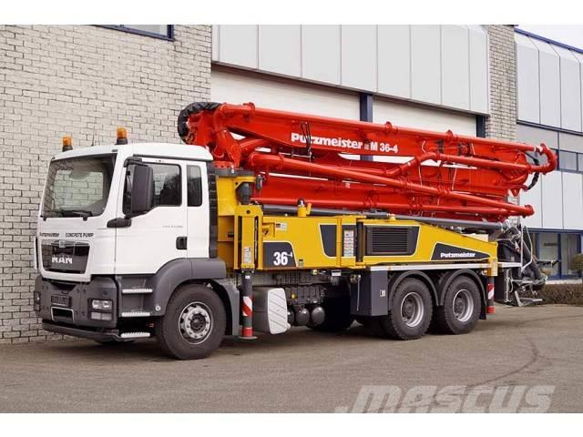 MAN TGS 33.360 BB-WW 6X4 CONCRETE PUMP