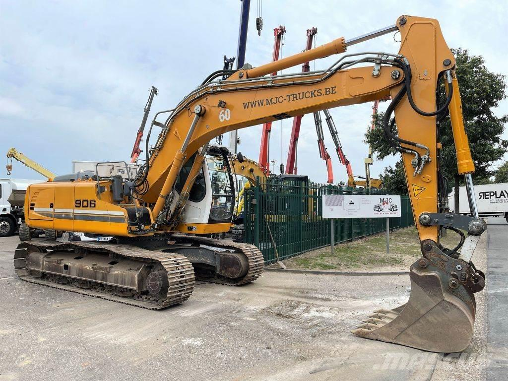 Liebherr R906 LC LITRONIC - QUICK HITCH - A/C - CENTRAL LUB