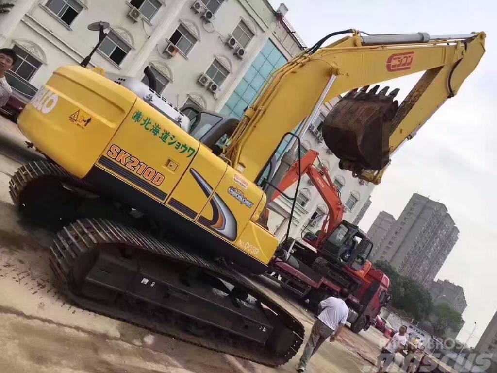 Kobelco SK 210-8 - Crawler excavators, - Mascus UK